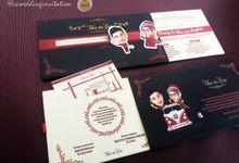 UNIQUE Card @ccweddinginvitation by ccweddinginvitation