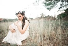 Dreamy and Eloquent Portrait by The Daydreamer Studios