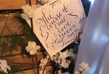 Midsummer Night's Dream Wedding by Twinsome Events