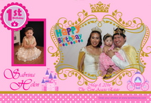 First Birthday of Sabrina Helen by e-Guestbook