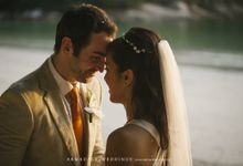 Beach Wedding in Pangkor Laut Resort Malaysia by Armadale Weddings