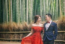 Gorgeous Red evening gowns for your wedding by Armadale Weddings