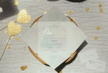 Watercolours Invitation and Styling by mylin design & co.