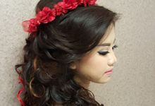 Hair Styling works by Nikita Anggoro