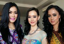 Kezia Roslin Cikita Warouw Puteri Indonesia 2016 by Arnold Makeover