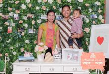 Anandina & Aris Wedding by instafunbooth