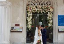 Wedding at st Mary church by Beato