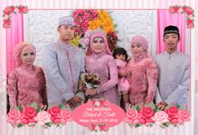 The Wedding of Bilqist & Fadil by Frameous Photobooth