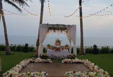 Cliff top Wedding by Wahaha Pork Ribs