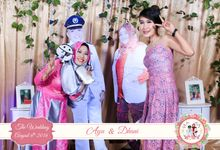 The Wedding of Ayu & Dhani by Bless Photobooth
