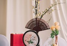 Oriental Zen Wedding Styling l ShawnxHeon by Cinderella Dream