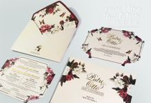 CUSTOM SINGLESOFTCOVER by ccweddinginvitation