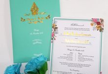 Single Softcover Potrait Envelove by ccweddinginvitation