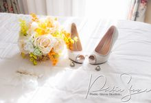 Hilda and Nathaniel Wedding by Poetic Stone Studios