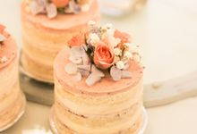 Wedding Cake - Denny & Octavia by Lareia Cake & Co.