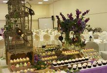 Dessert Table & Wedding Cake - A Lavender Dream by LA BONNIE PASTRIES PTE. LTD.