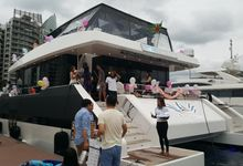Blissful Wedding by Eagle Wings Yacht Charters Pte Ltd