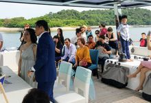 Wedding Solemnization by Eagle Wings Yacht Charters Pte Ltd
