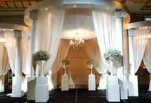 Grand Copthorne Waterfront Wedding Showcase Nov 2016 by Blackaccessories - specialises in Crystal Bouquet