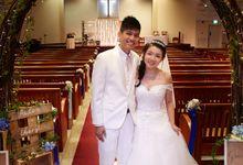 Puden and Cheryl Wedding by Megu Weddings
