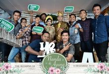 The Wedding of Nanda & Ayuna by Bali Island Photobooth