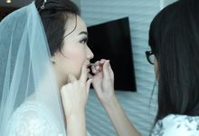 Wedding Makeup for Benita by Annastasia Makeup Artist