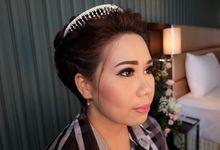 Wedding Makeup for Katherine by Annastasia Makeup Artist