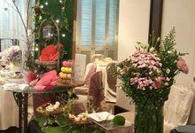 Dessert Table Showcase at Rendezvous Hotel Singapore by LA BONNIE PASTRIES PTE. LTD.