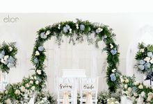 Edo and Bella - White Vintage Wedding by Elior Design