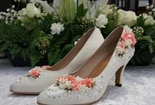 Latifa's Wedding Shoes by Vousbelle