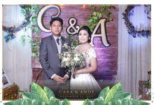 Cara & Andy Wedding by Ennio Photobooth