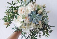 Rustic Theme Wedding by Tiffany's Flower Room
