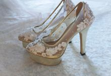 Blush shoes project by vous by Vousbelle