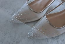 Nadya's Wedding Shoes by Vousbelle