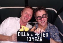 Dilla & Peter by Bali Photo Booth