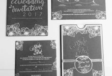 Grey Singleboard Ekslusif by ccweddinginvitation