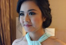 bridesmaid by mellyna make up artis