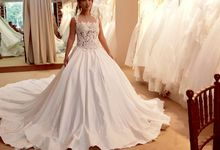 Wedding Gown by Flo Make Up Artist