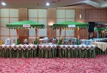 Wedding Of Ajeng & Nicky by PUSPA CATERING