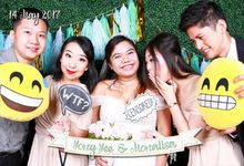 Yong Yee & Monalisa - Wedding Photo Booth by Cloud Booth