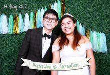 Yong Yee & Monalisa - Wedding Photo Booth by Cloud Booth