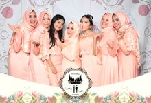 Sevirza & Fachri by Twotone Photobooth