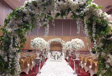 The Wedding  of David & Winda by Dyandra Convention Center Surabaya