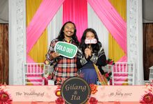 The Wedding Of Gilang & Ita by Bali Island Photobooth