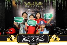 The Wedding Of Billy & Bella by Bali Island Photobooth