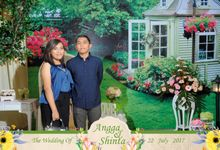 The Wedding Of Angga & Shinta by Bali Island Photobooth