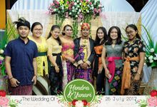 The Wedding Of Hendra & Yunari by Bali Island Photobooth