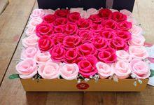 Eternal Paper Flowers by Little rosebud