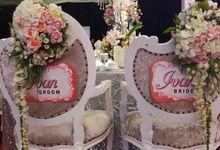 The Wedding of  Ivan & Ivana by Dyandra Convention Center Surabaya