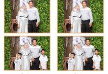 Adien & Dewi by Twotone Photobooth
